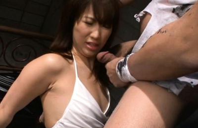 Nozomi Mitani Asian doll has a hot creampie