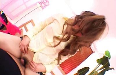 Japanese model has hot sex