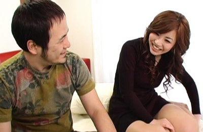 Hina Fuyuzuki sucks, fucks and gets splattered with a creampie!