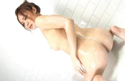 Sara Seori Pretty Asian model enjoys partying