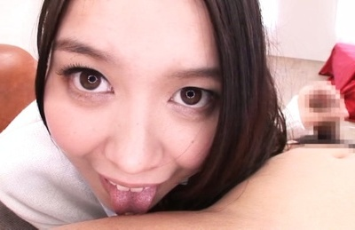 Chick with awesome bubbles Anna Natsuki rides cock on POV