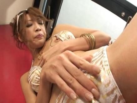 Aya Sakuraba Lovely Asian model is sexy